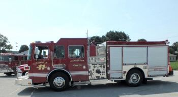 Nashville Volunteer Fire Company serves Jackson Township, York County, PA